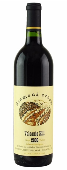 1978 Diamond Creek Cabernet Sauvignon Volcanic Hill