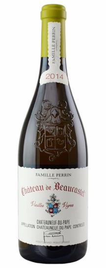2010 Beaucastel, Chateau Chateauneuf du Pape Blanc Roussanne Vieilles Vignes