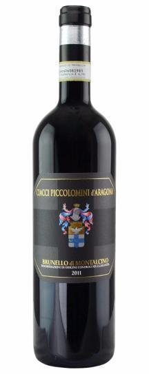 2011 Ciacci Piccolomini d'Aragona Brunello di Montalcino