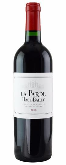 2012 Le Parde de Haut Bailly Bordeaux Blend