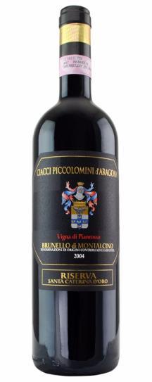 2010 Ciacci Piccolomini d'Aragona Brunello di Montalcino Vigna di Pianrosso Riserva