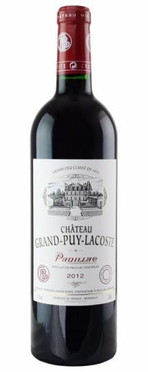 2012 Grand-Puy-Lacoste Bordeaux Blend