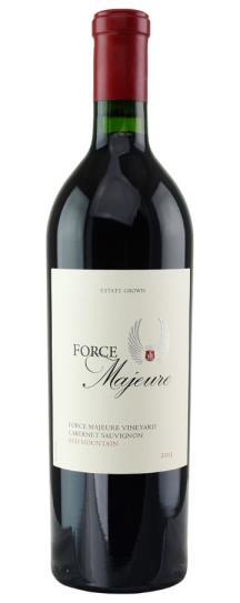 2013 Force Majeure Cabernet Sauvignon