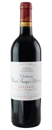 2001 Haut Bages Liberal Bordeaux Blend