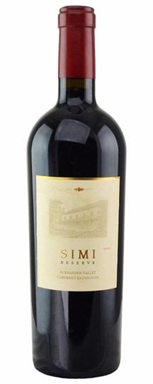 1997 Simi Winery Cabernet Sauvignon Reserve
