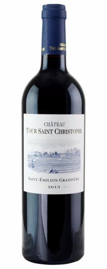 2018 Tour Saint Christophe Bordeaux Blend