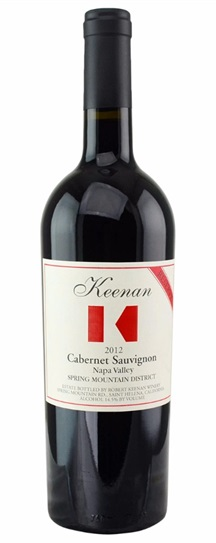 2003 Robert Keenan Winery Cabernet Sauvignon Reserve Spring Mountain