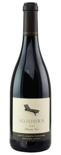2007 Sojourn Cellars Pinot Noir Gaps Crown  Vineyard