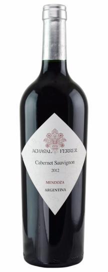2012 Achaval Ferrer Cabernet Sauvignon