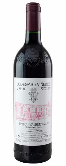 1992 Vega Sicilia Valbuena 5 Year Old Tinto