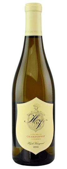 2012 HdV Winery Chardonnay Hyde Vineyard