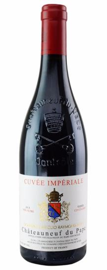 2013 Domaine Raymond Usseglio Chateauneuf du Pape Cuvee Imperiale