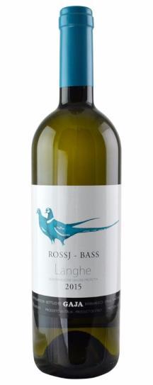 2016 Gaja Chardonnay Rossj Bass