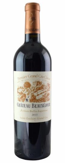 2013 Beausejour (Duffau Lagarrosse) Bordeaux Blend