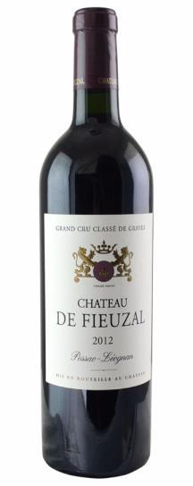 2012 Fieuzal, De Bordeaux Blend
