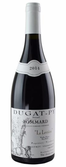 2014 Dugat-Py, Domaine Bernard Pommard La Levriere
