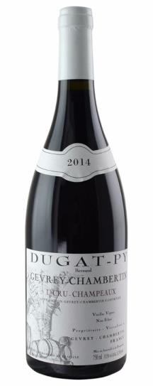 2014 Domaine Dugat-Py Gevrey Chambertin 1er Cru Champeaux