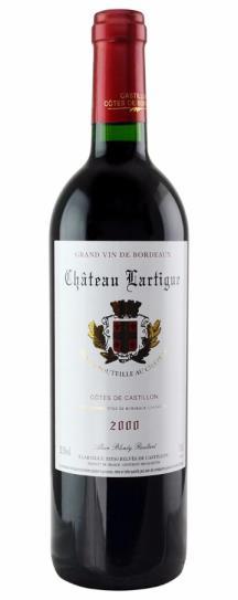 2000 Chateau Lartigue Bordeaux Blend