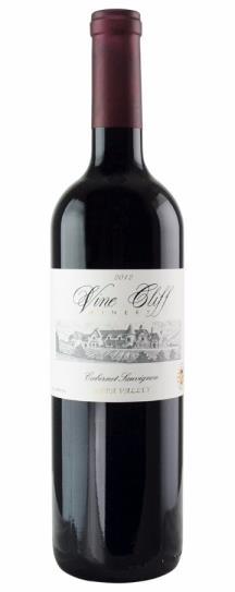 2012 Vine Cliff Cellars Cabernet Sauvignon