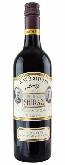 2011 Kay Brothers Shiraz Block 6