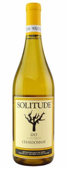 2009 Solitude Chardonnay  Sangiacomo Vineyard