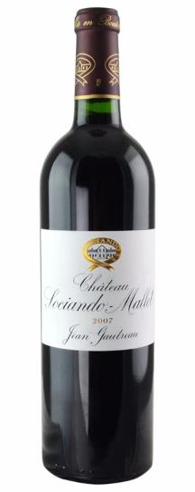 2011 Sociando-Mallet Bordeaux Blend
