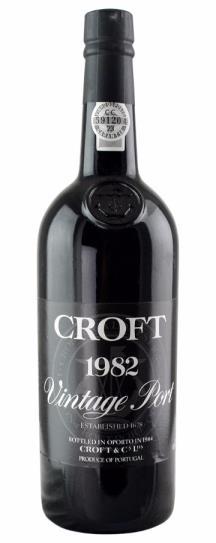 1982 Croft Vintage Port
