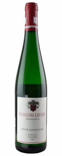 2015 Schloss Lieser Brauneberger Juffer Sonnenuhr Riesling Spatlese