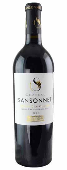 2012 Sansonnet Bordeaux Blend