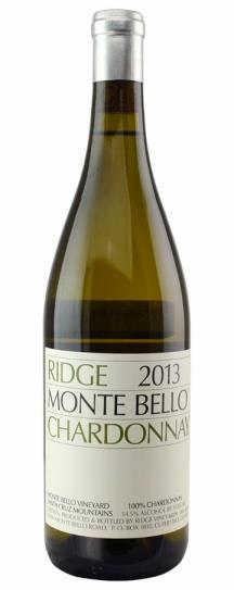 2010 Ridge Chardonnay Monte Bello Vineyard