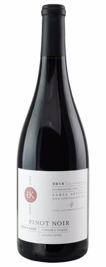 2014 Eric Kent Pinot Noir Sascha Marie
