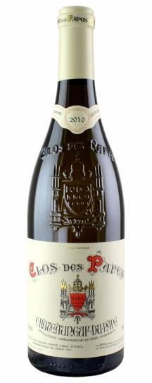 2010 Clos des Papes Chateauneuf du Pape Blanc