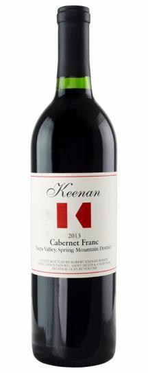 2013 Keenan, Robert Cabernet Franc