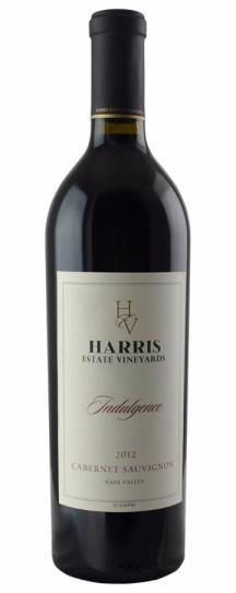 2012 Harris Estate Vineyards Indulgence Cabernet Sauvignon