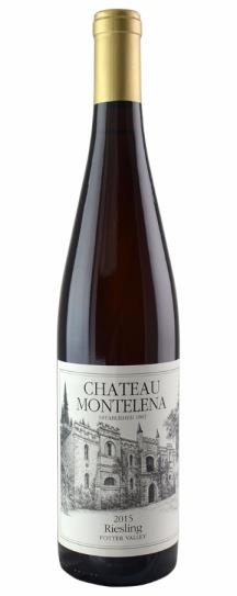 2015 Chateau Montelena Riesling Potter Valley