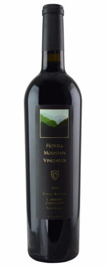 2012 Howell Mountain Vineyards Cabernet Sauvignon