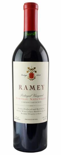 2013 Ramey Cabernet Sauvignon Pedregal Vineyard