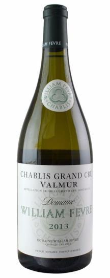 2013 Fevre, Domaine William Chablis Valmur Grand Cru