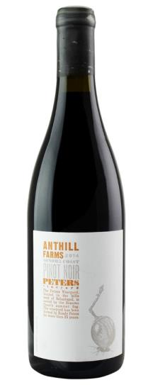 2014 Anthill Farms Pinot Noir Peter's Vineyard