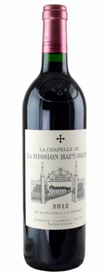 2009 Chapelle de la Mission Haut Brion, La Bordeaux Blend