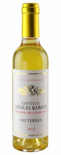2013 Sigalas Rabaud Sauternes Blend