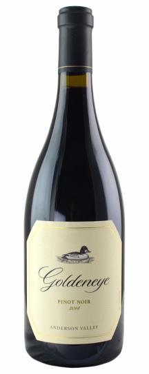 2014 Goldeneye (Duckhorn) Pinot Noir
