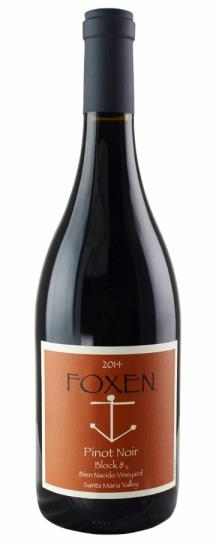 2014 Foxen Vineyard Pinot Noir Bien Nacido Vineyard Block 8