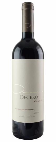 2013 Finca Decero Amano Remolinos Vineyard