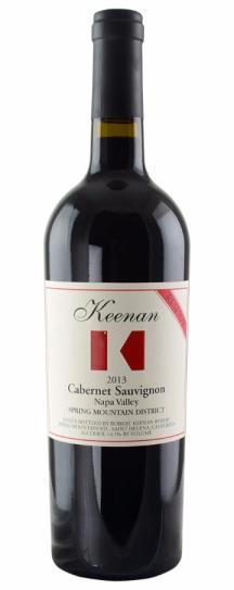 2013 Robert Keenan Winery Cabernet Sauvignon Reserve Spring Mountain
