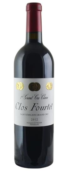2012 Clos Fourtet Bordeaux Blend