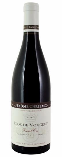 2015 Chezeaux, Jerome Clos Vougeot