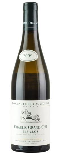 2009 Christian Moreau Pere et Fils Chablis Les Clos