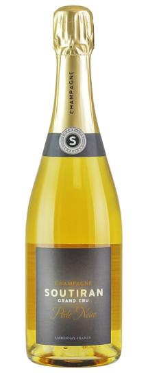 NV Champagne Soutiran Perle Noire Blanc de Noirs Grand Cru Brut
