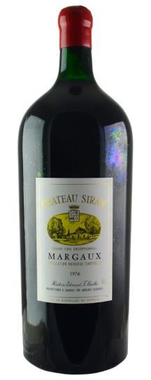 1976 Siran Bordeaux Blend